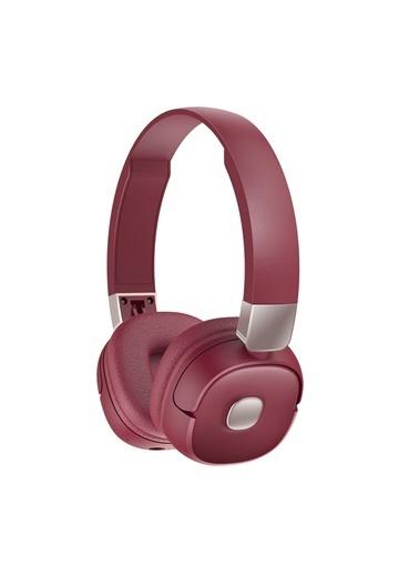 Jacobson G501 Bluetooth Kulaküstü Kulaklık 3d Stereo Ses Bordo Bordo
